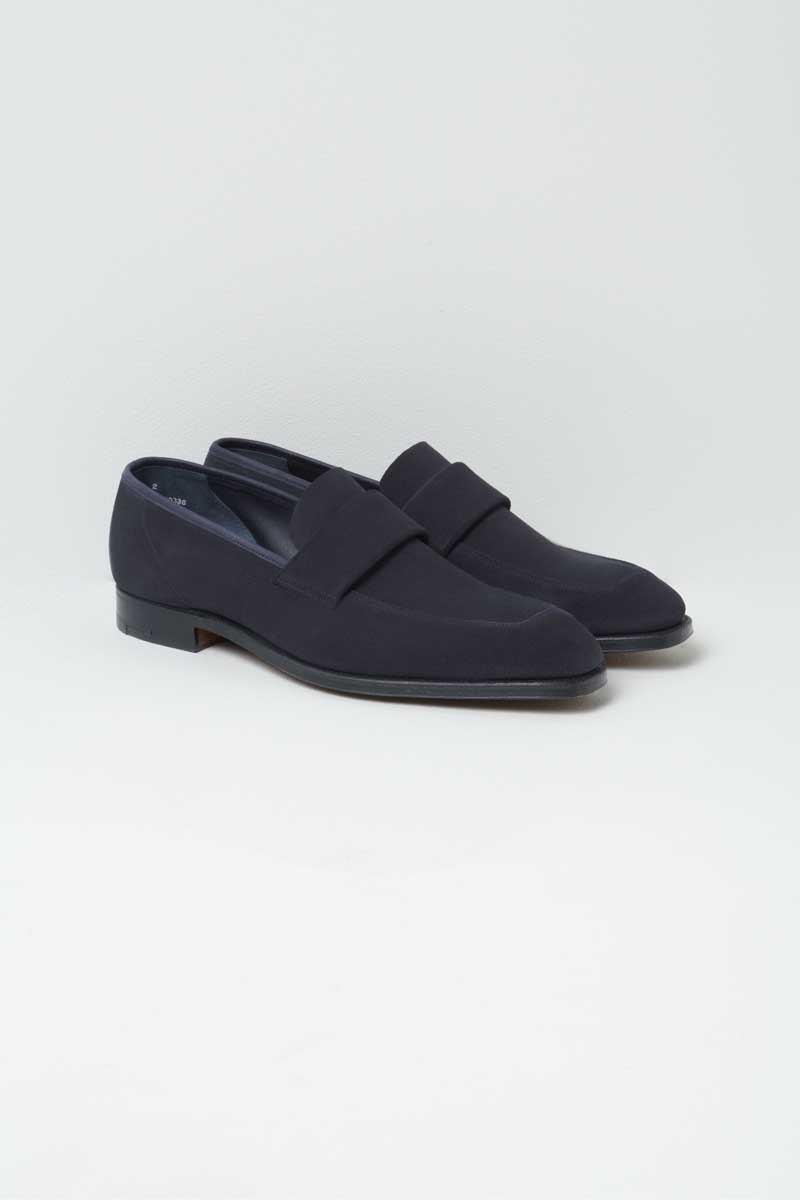 61dc6969 Walton Loafers Shoes in Suede by Richard James Savile Row